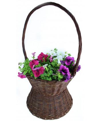 Prútený kôš na kvety Magnolka