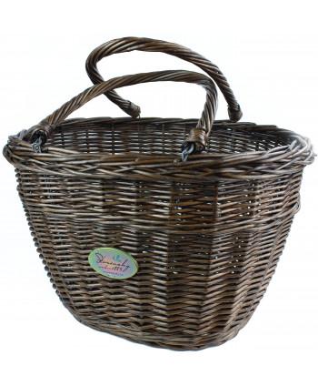 Prútemá nákupná taška Tari Brondze