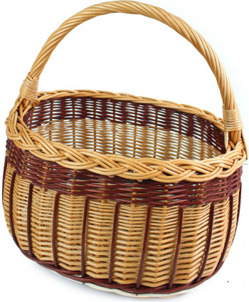 Nákupný prútený košík Tazzi