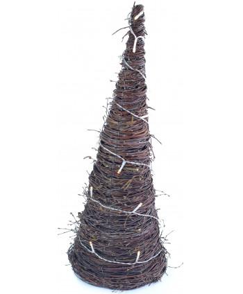 Brezový vianočný stromček STAR LED