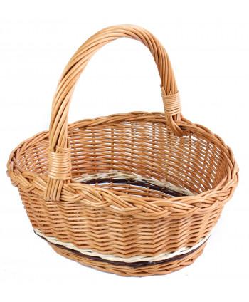 Veľkonočný prútený košík Hribko