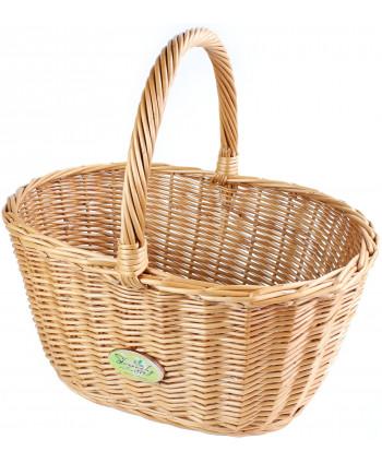 Prutený košík Duby
