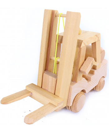 Drevený Vysokozdvižný vozík