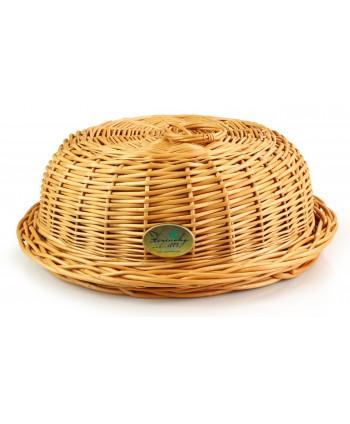 Prútený chlebník Okrúhly