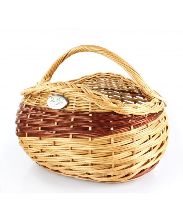 Prútený košík DINO
