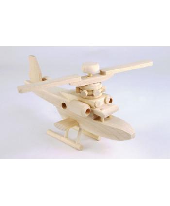 Drevený vrtuľník