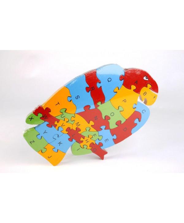 Drevené puzzle Orol