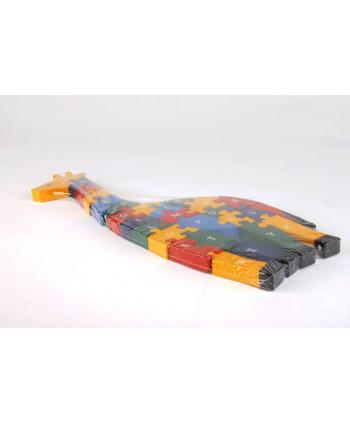 Drevené puzzle Žirafka