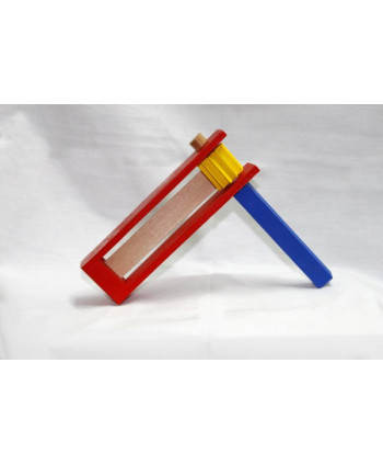 Farebný drevený rabkáčik