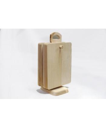 Komplet drevených dosiek na stojane