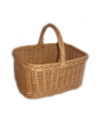 Prútený košík na nákupy Ecke