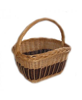 Prútený košík na nákupy Bikko