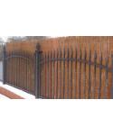 Prútené tienidlo na plot