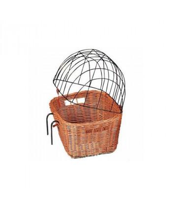 Košík na bicykel pre zvierata