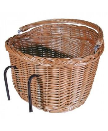 Košík na bicykel oválny