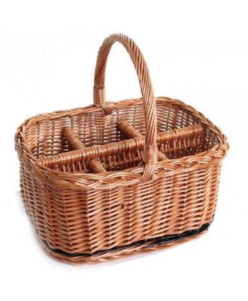 Nákupný košík pre 8 fľiaš