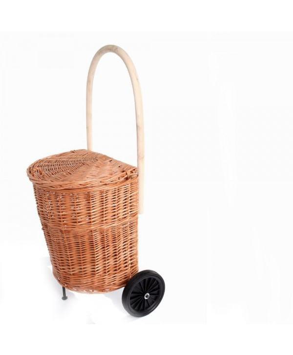 Nákupný košík na kolieskách
