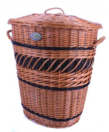 Prútený prádlový kôš Burgy