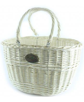 Prútemá nákupná taška Tari White